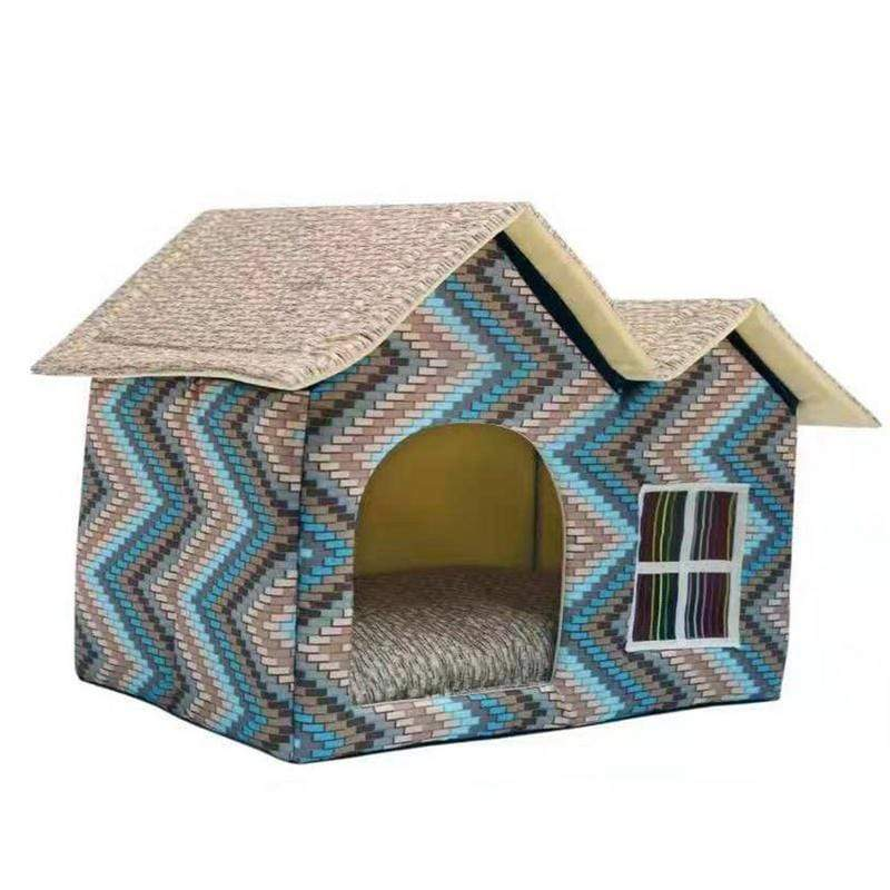Max and Maci's Store Dog Doors, Houses & Furniture Double Top Kennel Teddy Dog House