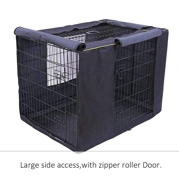 Durable Zipper Oxford Dog Cage - Max and Maci's Store