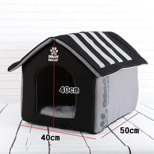 Fashion Removable Cover Mat Foldable Dog House - Max and Maci's Store