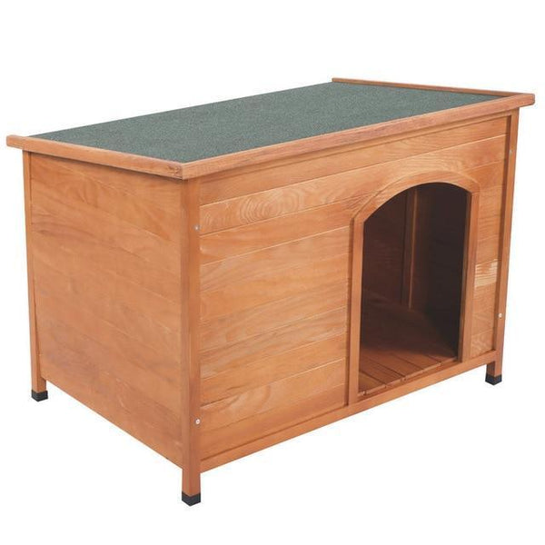 Home Outdoor Ground Wood Dog House - Max and Maci's Store