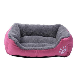 Max and Maci's Store Dog Doors, Houses & Furniture Hot pink / L Dog Cat Bed House Warm Breathable