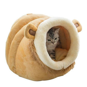 Max and Maci's Store Dog Doors, Houses & Furniture Lion / S Soft Warm Winter Puppy Kennel Bed and Sleeping Bag