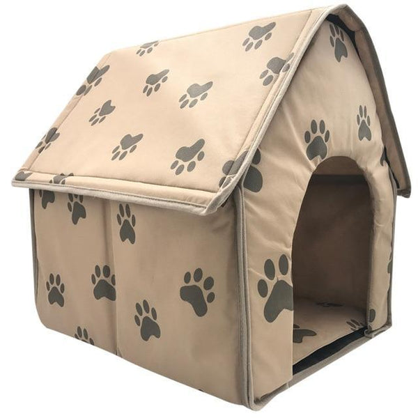 Foldable Small Footprint Pet Bed - Max and Maci's Store