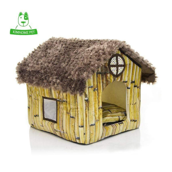 New Warm Soft Removable Cover Dog House - Max and Maci's Store