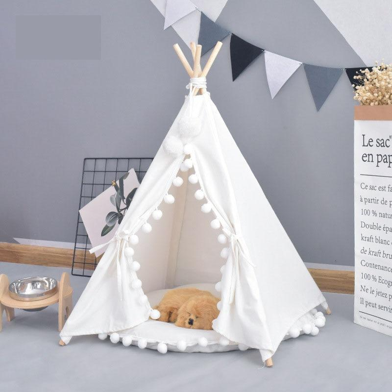 Max and Maci's Store Dog Doors, Houses & Furniture Nice Indoor Outdoor Portable Teepee Mat