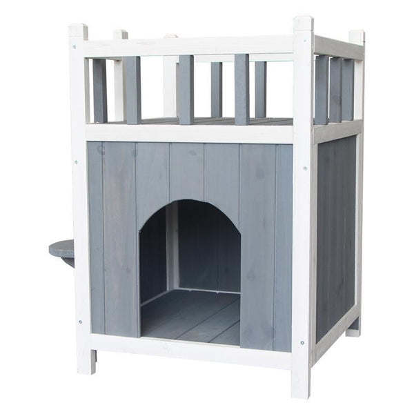 Pet Fir Double Cat House - Max and Maci's Store