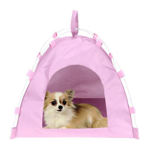 Max and Maci's Store Dog Doors, Houses & Furniture Pets Tent House Dog Cat Playing Bed