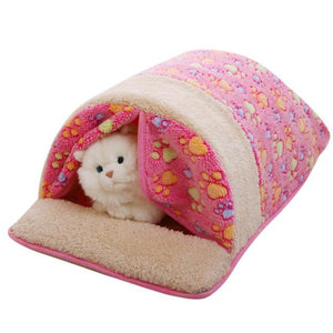 Max and Maci's Store Dog Doors, Houses & Furniture Pink / 60 x 40 x 27cm Detachable Pet Dog Cat Bed