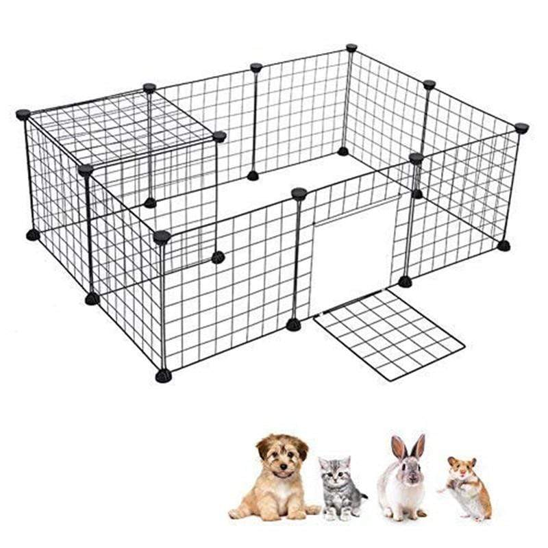 Max and Maci's Store Dog Doors, Houses & Furniture Portable Metal Wire Dog Cage