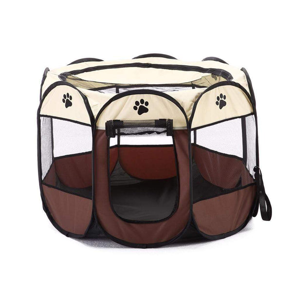 Portable Playpen Dog Folding Crate Dog Tent - Max and Maci's Store