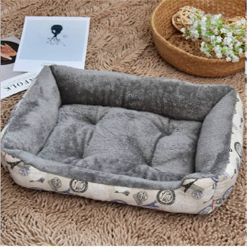 Max and Maci's Store Dog Doors, Houses & Furniture Removable Thickened Warm Dog Beds