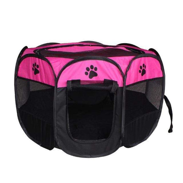 Max and Maci's Store Dog Doors, Houses & Furniture Rose / 91X91X58cm Portable Pet Tent Folding Dog House