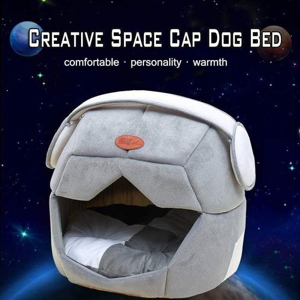 Space Cap Shape Dog Beds - Max and Maci's Store