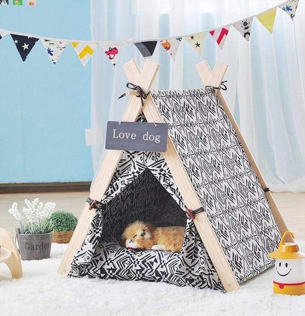 Dog House Nest With Mat Foldable Tent - Max and Maci's Store