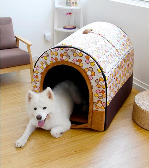 Max and Maci's Store Dog Doors, Houses & Furniture Waterproof Covered Bed For dogs