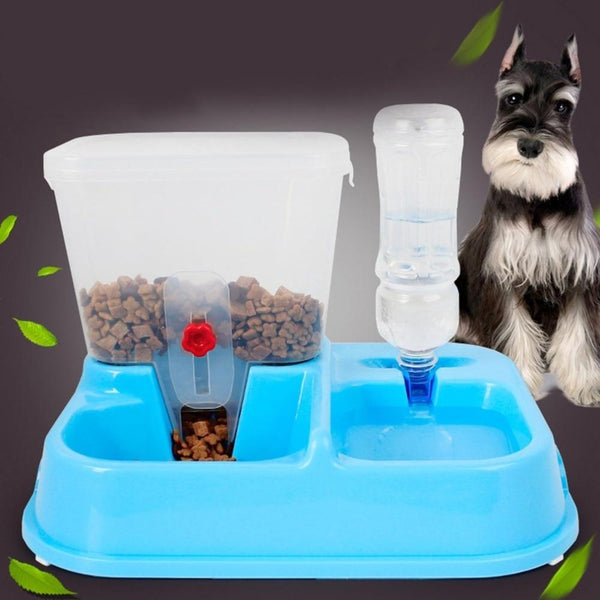 2 In 1 Dog Cat Food Feeders - Max and Maci's Store