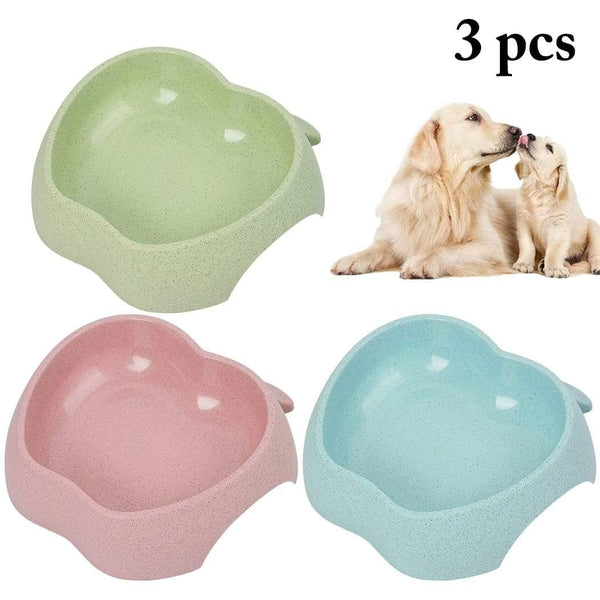 3Pcs Cute Dog Food Feeder - Max and Maci's Store