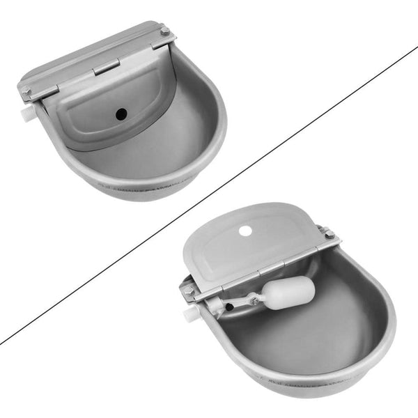 Stainless Steel Water Trough Bowl - Max and Maci's Store