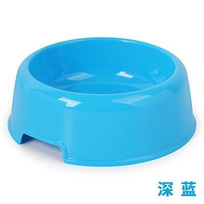 Candy Color Plastic Dog Bowl - Max and Maci's Store