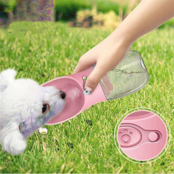 Compact Size 350Ml Pets Dogs Feeding Water Bottle - Max and Maci's Store