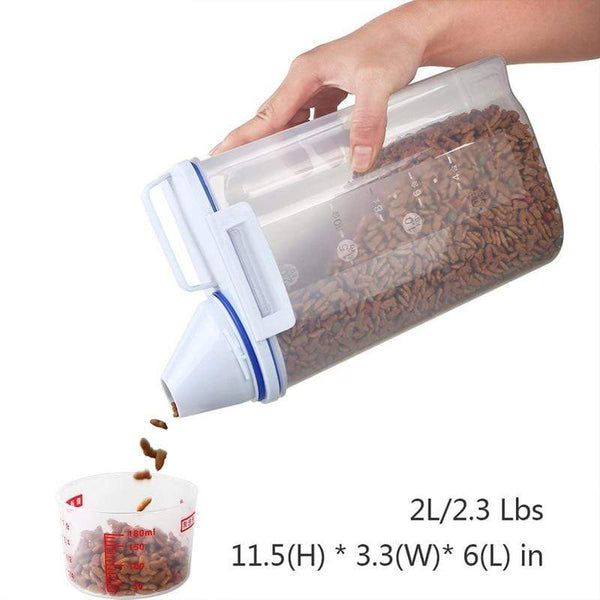 Dog Food Container Bucket Feeder - Max and Maci's Store
