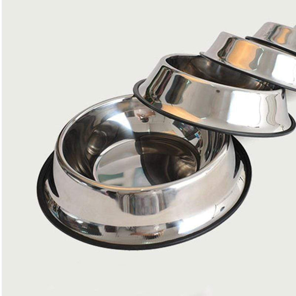 Double Stainless Steel Dog Bowls - Max and Maci's Store