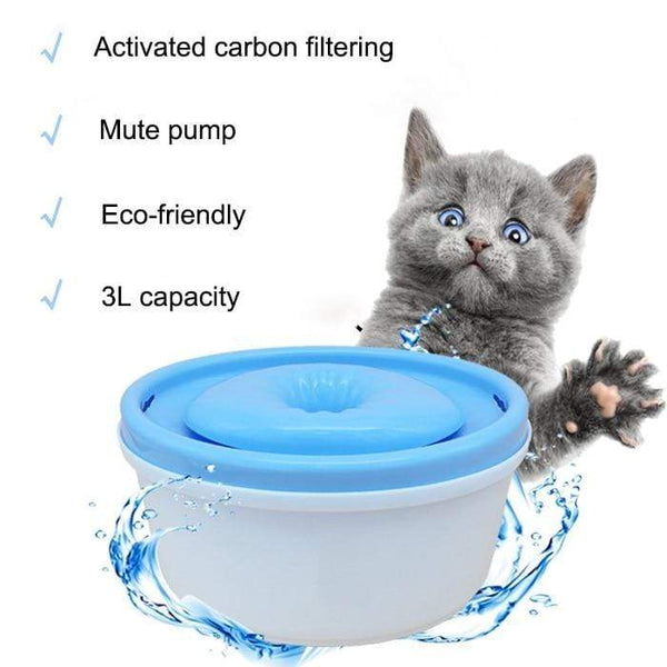 Filtering Dog Water Fountain Automatic Pet Feeder - Max and Maci's Store