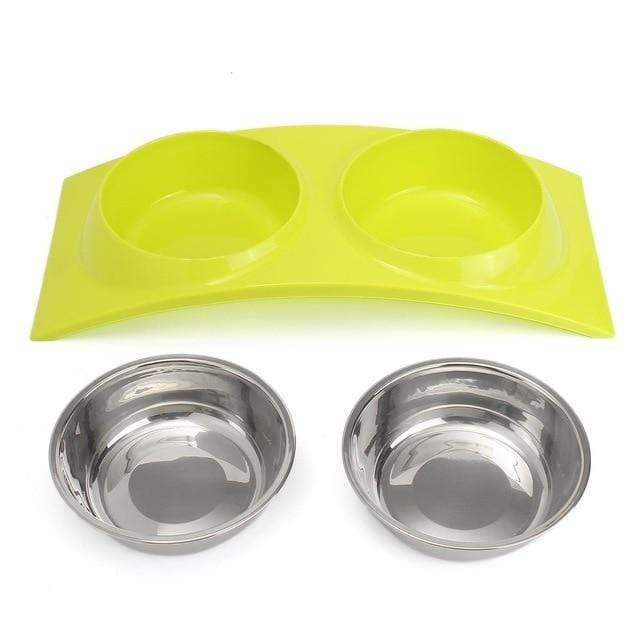 Max and Maci's Store Dog Feeding Pink/Blue/Green Pet Dog Bowl