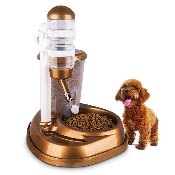 Large Capacity  Dog Rabbit Food Water Feeder - Max and Maci's Store