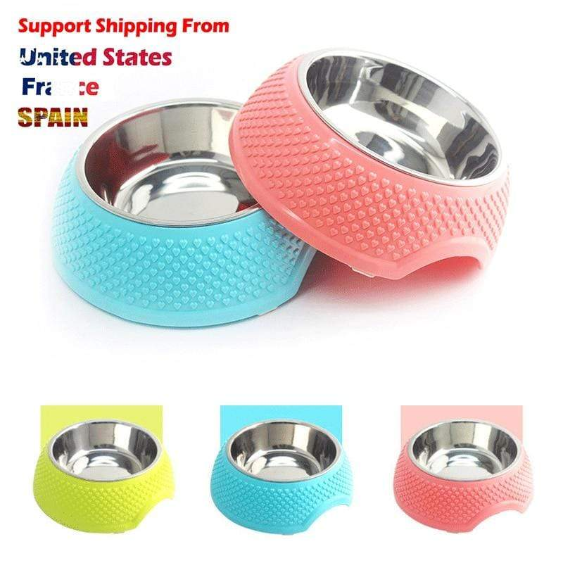Max and Maci's Store Dog Feeding Pet Dog Feeding Food Bowls