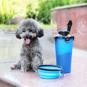 Max and Maci's Store Dog Feeding Pet two water cups