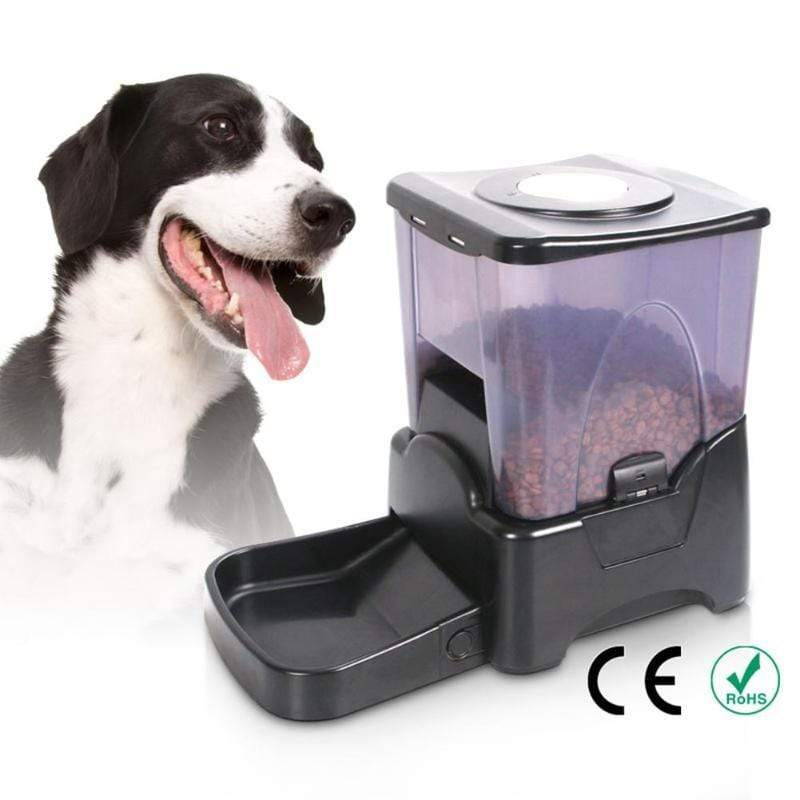 Max and Maci's Store Dog Feeding PF-10A Large Capacity Automatic Pet Dog Feeder