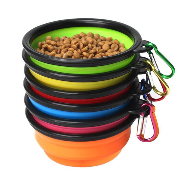 Portable Puppy Pet Food Container Feeder Dish - Max and Maci's Store