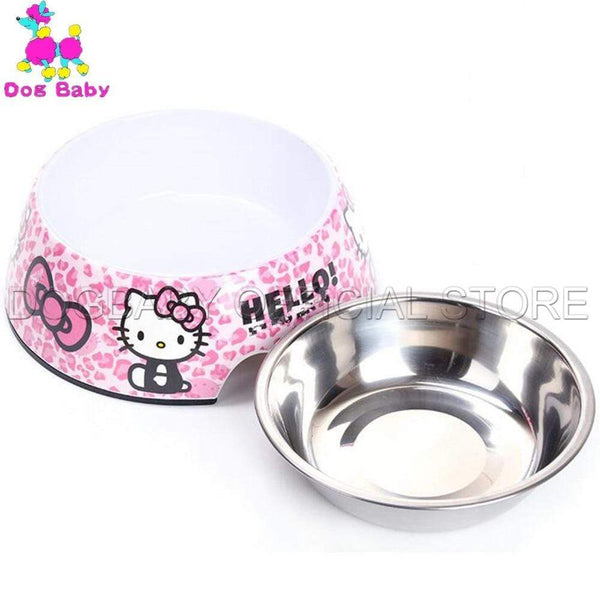 Stainless Steel Dog Bowl Food Feeders - Max and Maci's Store