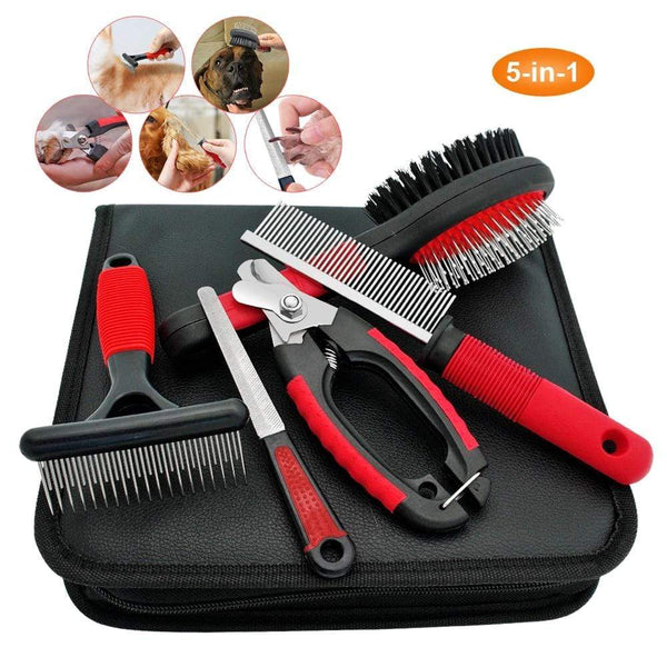 Dog Grooming  Stainless Steel Comb Set - Max and Maci's Store