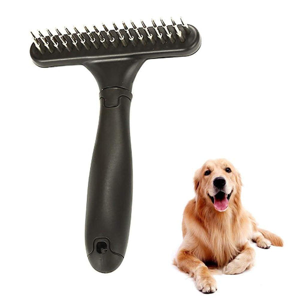 Double Row Pins Professional Dog Comb - Max and Maci's Store