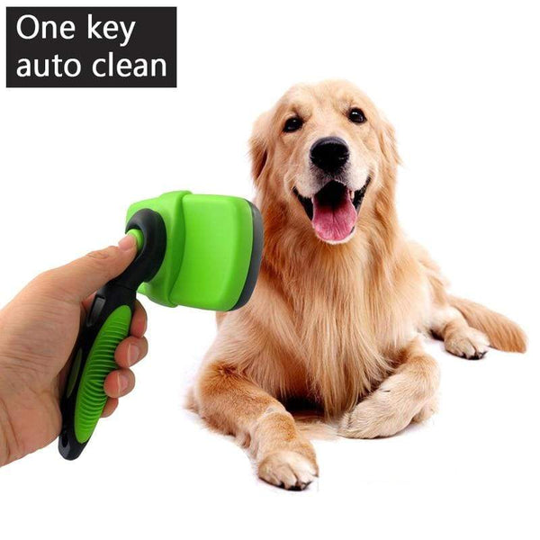 Large Dog Deshedding Comb Golden Retriever Hair Brush - Max and Maci's Store