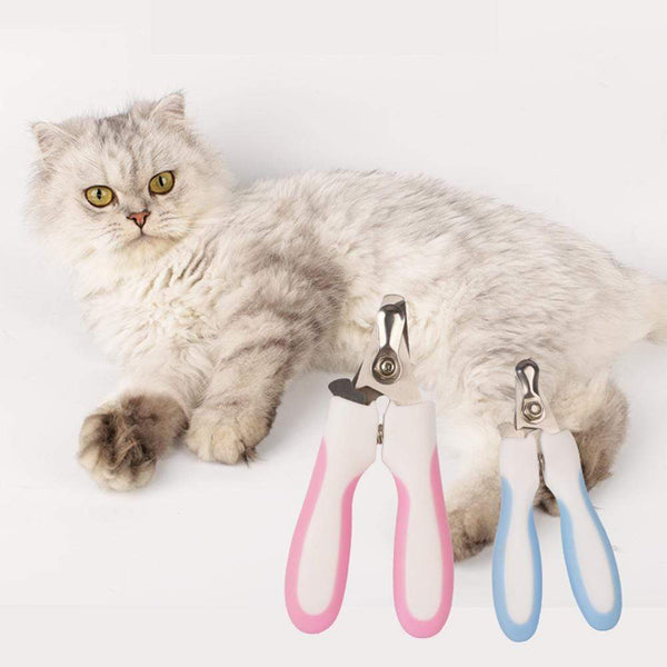 Pet Soft Stainless Steel Dogs Claw Nail Clippers - Max and Maci's Store