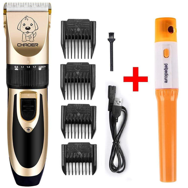 Professional Dog Hair Trimmer Grooming With Electric Nail Clippers - Max and Maci's Store