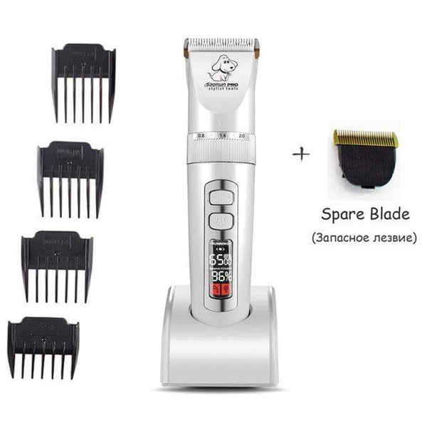 Lcd Screen Professional Dog Haircut Grooming Trimmer - Max and Maci's Store