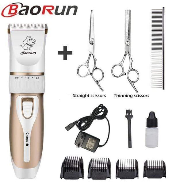 Dog Grooming Trimmer Kit Professional - Max and Maci's Store