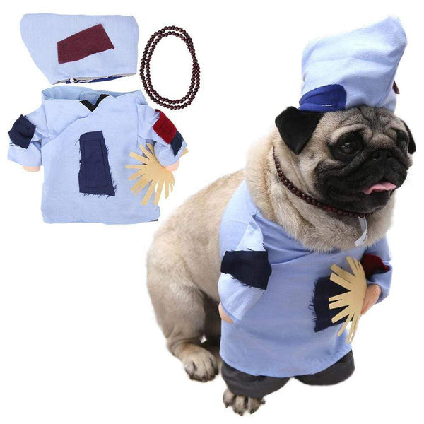 Dog Costumes Cosplay Suit Halloween Christmas Uniform - Max and Maci's Store