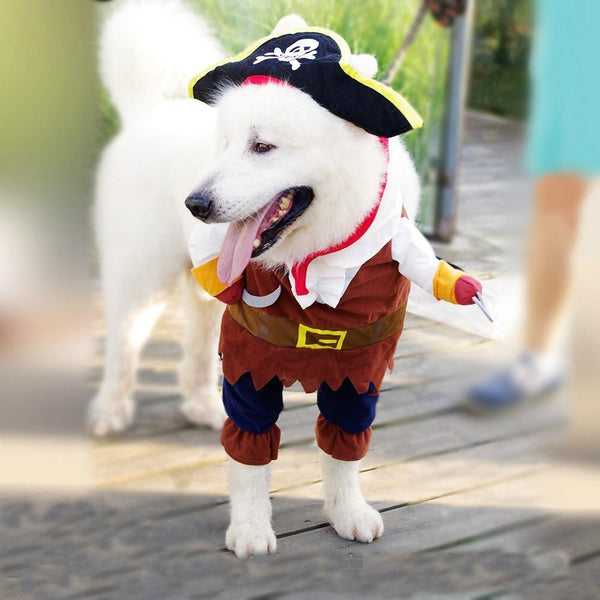 New Arrival Dog Clothes Pirate Costume - Max and Maci's Store