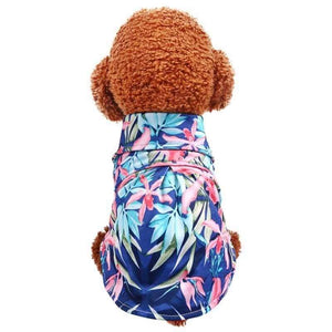 Max and Maci's Store Dog Shirts Casual Canine Floral Pet Small Dog Vest Shirt