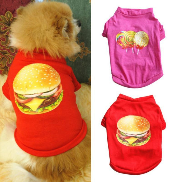 Clothing Vest T Shirt For Dogs - Max and Maci's Store