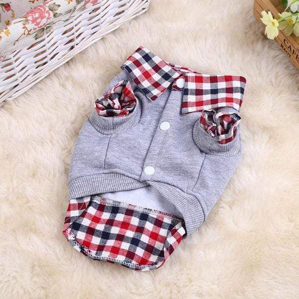 Dog Clothes Blouse Pet Polo Shirt - Max and Maci's Store