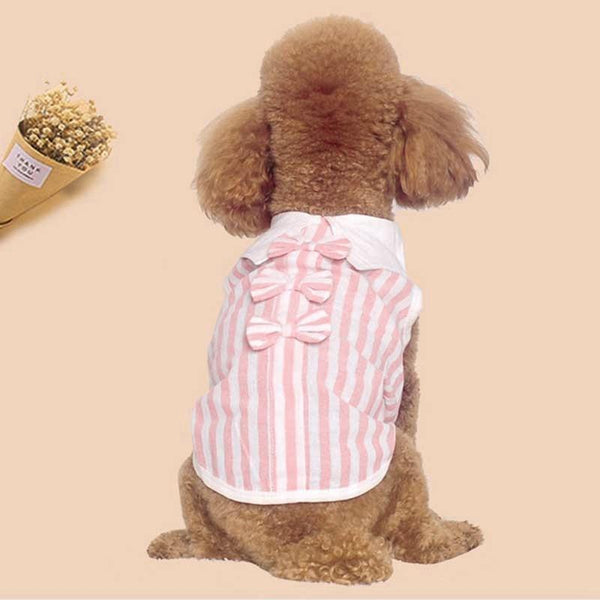 Dog Clothes Pet Summer Sleeveless Shirt - Max and Maci's Store