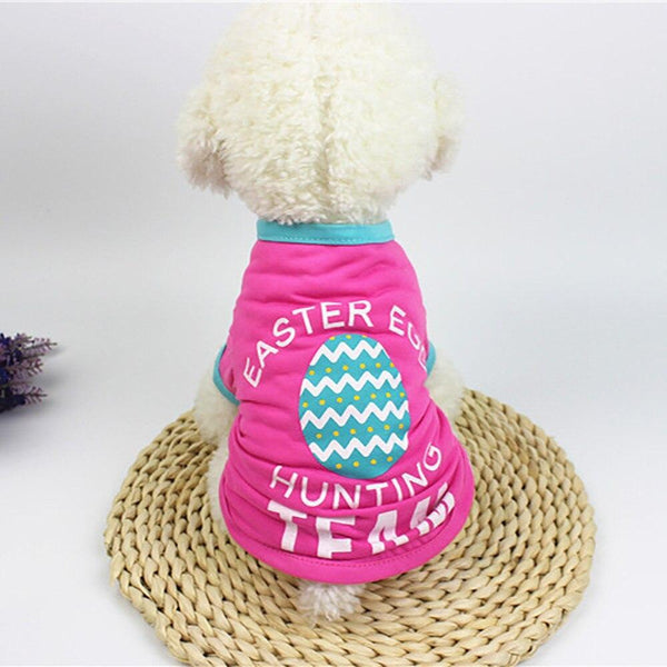 Dog Outfit Simple Fashion Cool T-Shirt - Max and Maci's Store