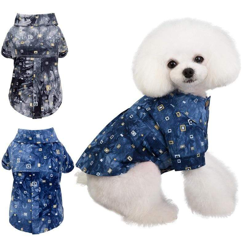 Max and Maci's Store Dog Shirts Dog Shirts Cotton Summer Beach