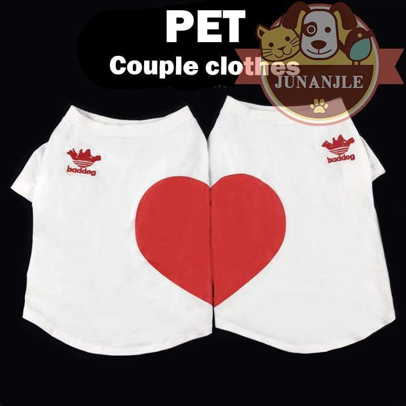 Max and Maci's Store Dog Shirts Dogs Couple Clothes Shirt